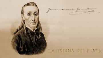 Grabado de Juana Manuela Gorriti publicado en La Ondina.