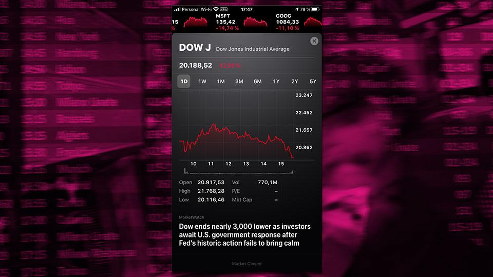 La economía del pánico: Lunes Negro II.