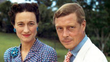 Wallis Simpson y Eduardo VIII, duque de Windsor.