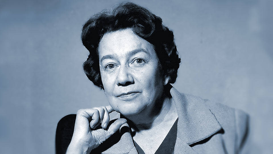 La leyenda de la doctora Ana Aslan hacia 1952.