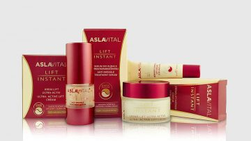 Aslavital®, secuela de la leyenda de la doctora Ana Aslan, en su forma comercial actual.