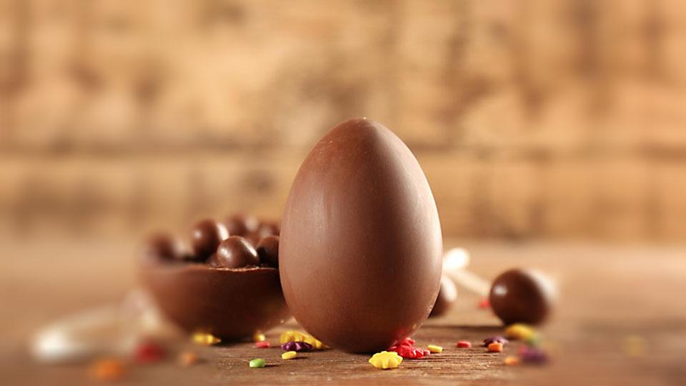 ¿Desde cuándo los huevos de Pascua se hacen con chocolate?