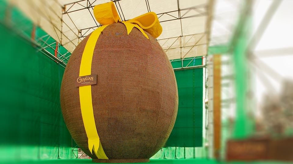 ¿Dónde se hizo el huevo de Pascua más grande del mundo?
