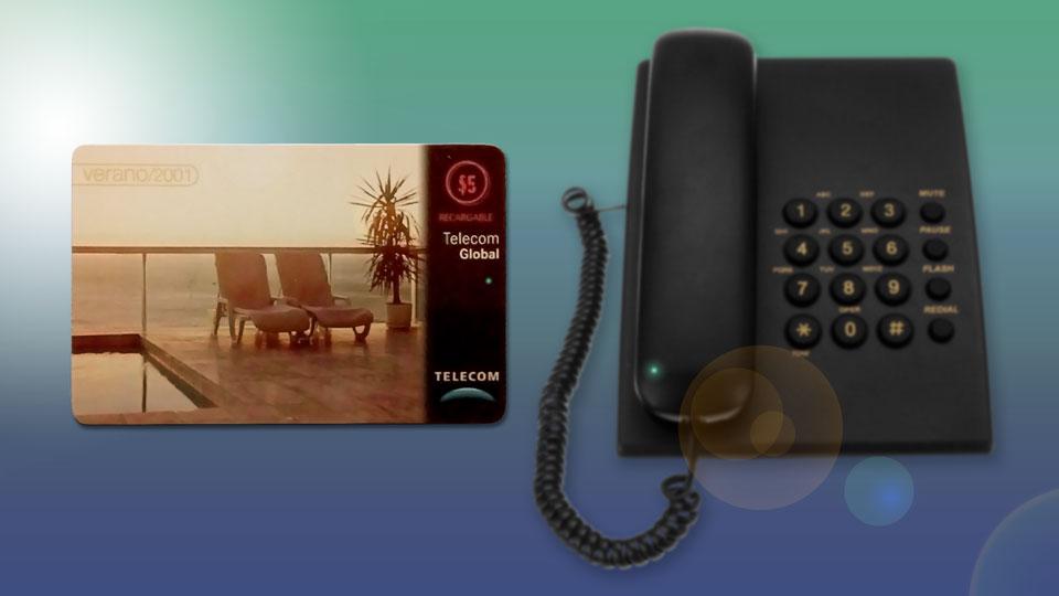 Veronese: Tarjeta Telecom Global.