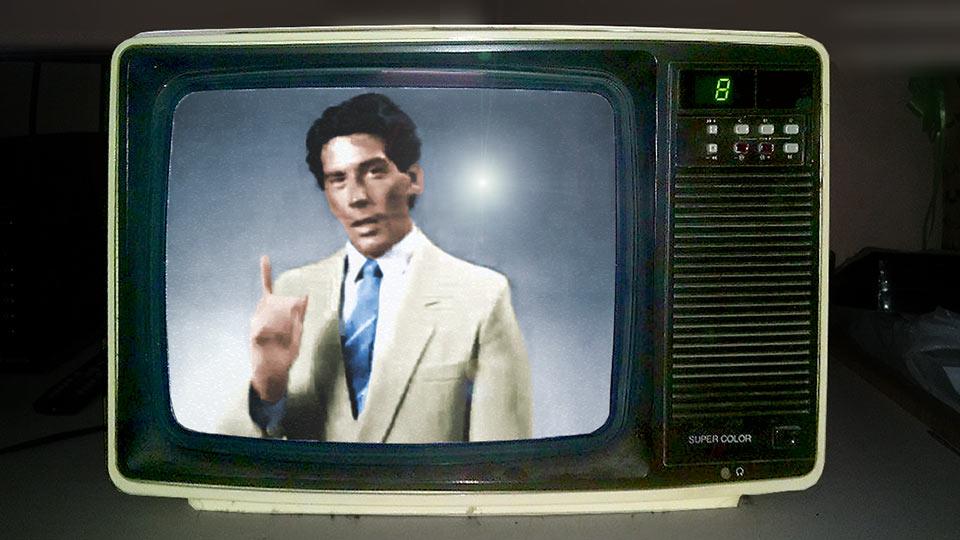 """¿Qué marca de televisores utilizó como remate """"Caro. Pero el mejor"""" para sus avisos?"""