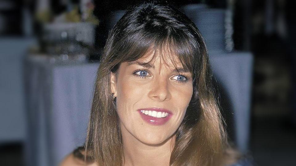 """""""Los 80"""" en la Argentina: la princesa Carolina de Mónaco."""
