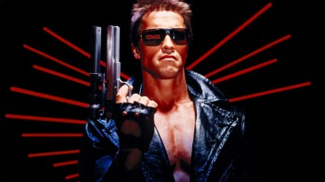 Arnold Schwarzenegger en Terminator.