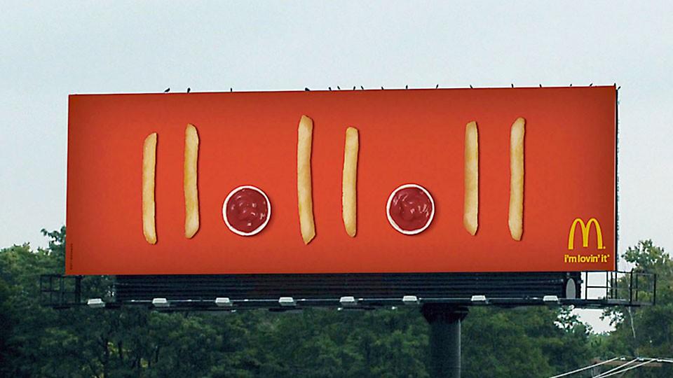 MacDonald's: alegoría gastronómica del paso del tiempo.