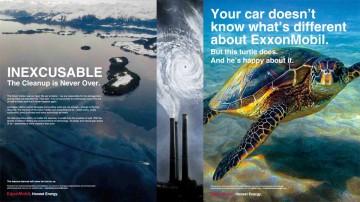 """Campaña """"Energía honesta"""" de ExxonMobil."""