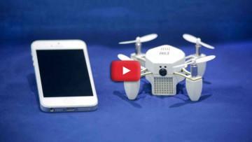 Nano drones al ataque.