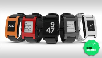 Pebble Watch en diferentes versiones y esferas.