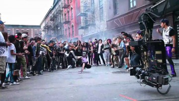 Backstage del video Party Rock Anthem de LMFAO.