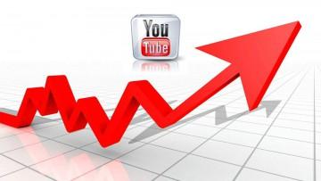 Representación figurativa del crecimiento de YouTube.