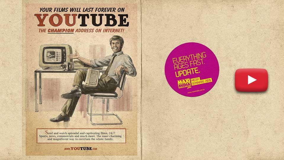 YouTube: publicidad vintage.