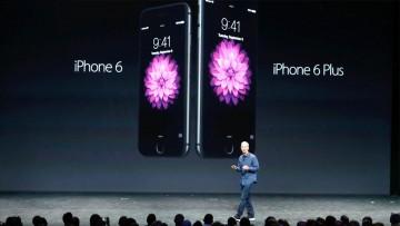 Tim Cook y el iPhone 6/6 Plus.