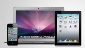 Apple iPhone, Macbook Air y iPad.