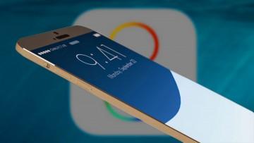 Apple iOS en un iPhone 6 Plus.