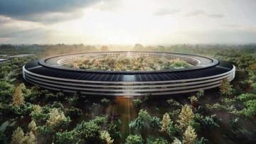 Imagen del proyecto del nuevo campus de Apple en Cupertino.