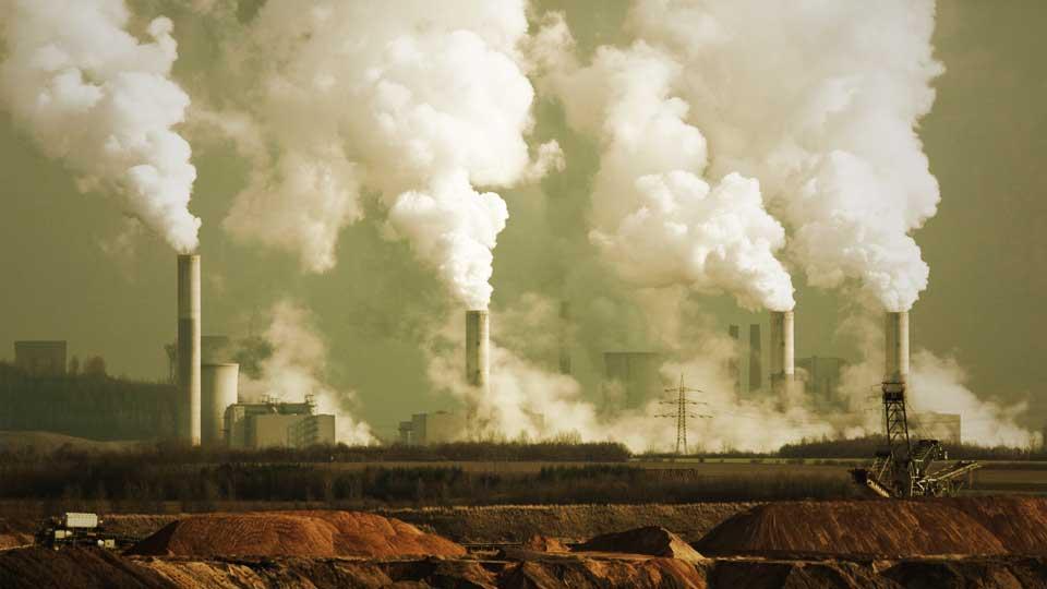 La huella de carbono y el calentamiento global.