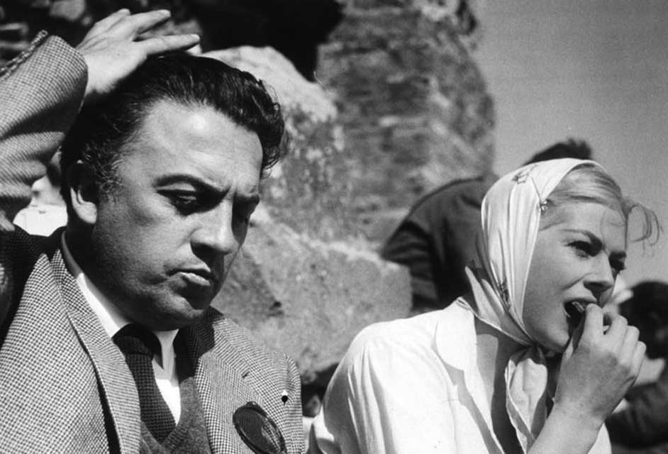 Fellini y Ekberg, una dupla muy especial.
