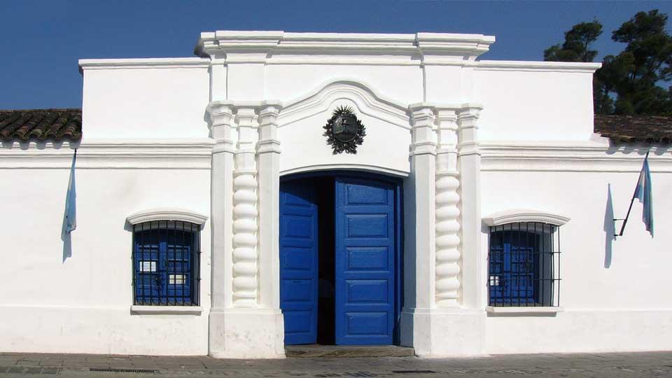 La Casa de Tucumán, declarada Monumento Histórico Nacional.