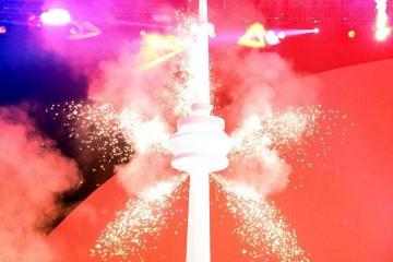 Clausura de los Juegos Panamericanos Toronto 2015.