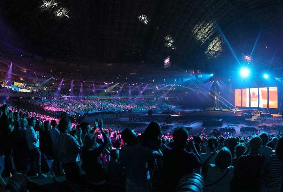 Apertura de los Juegos Panamericanos Toronto 2015.