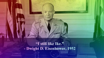 Dwight Eisenhower, el artífice del nacimiento de la publicidad política.