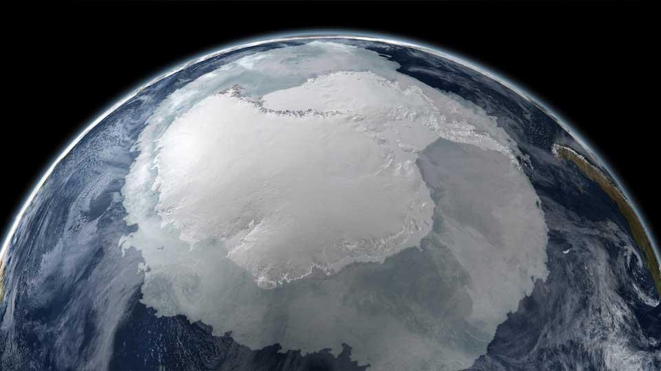 Responsabilidad Social Empresaria al día en el planeta Tierra: futuro Casco Polar Antártico en simulación.