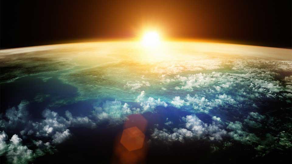 Cambio climático en otoño desde el espacio: el calentamiento global es un hecho incontrovertible.