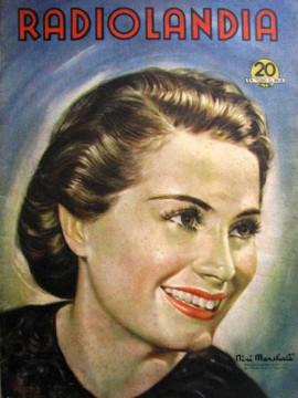 Niní Marshall en la portada de la revista Radiolandia.