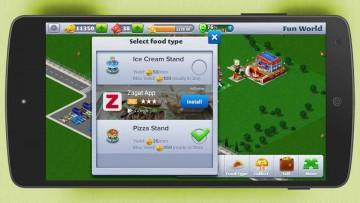 Publicidad nativa en los juegos interactivos.