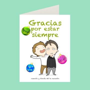 Tarjetas navideñas y tarjetas de salutación tangibles: las preferidas.