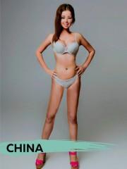 Imagen de mujer según el equipo de China
