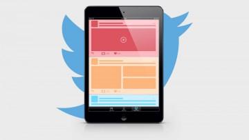 Esquemas de organización espacial para anunciantes de Twitter.