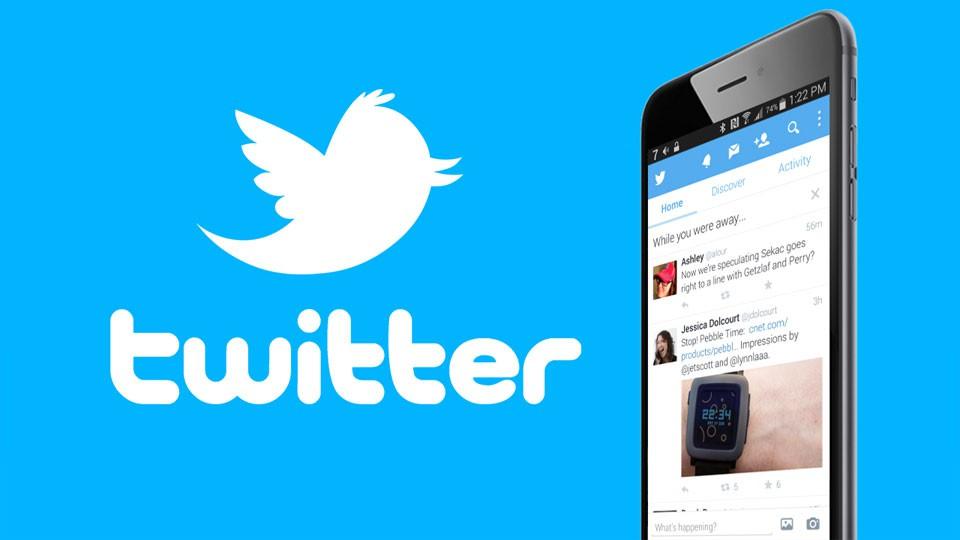 Twitter en los dispositivos móviles.