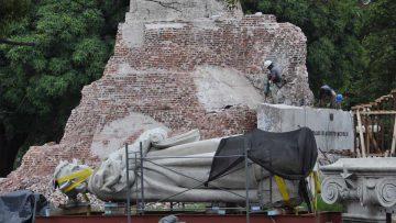 Marketing para descubrir América: traslado del monumento a Colón en Buenos Aires.