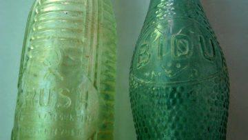 Botellas de Crush y Bidú originales.