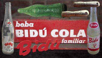 La marca Bidú Cola en algunas de sus variantes.