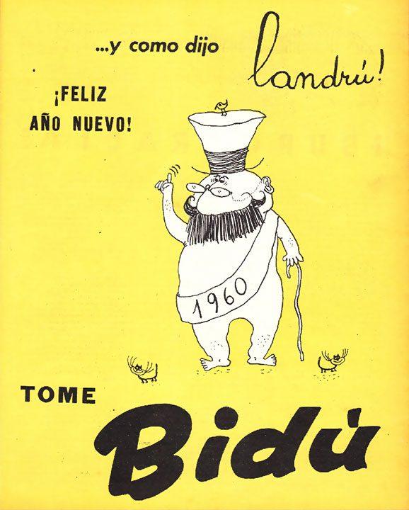 …y como dijo Landrú [año nuevo] (28/12/1959)