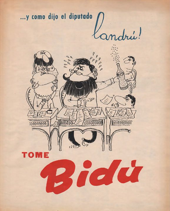 …y como dijo el diputado Landrú [elecciones legislativas] (28/05/1960)