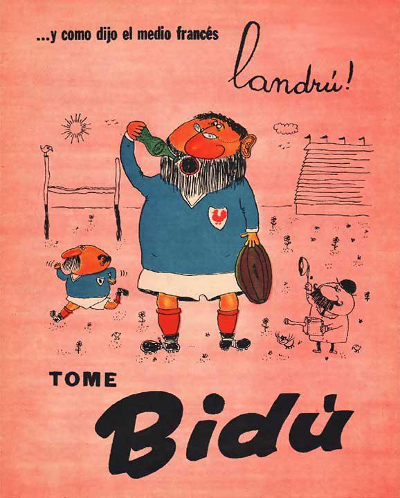 …y como dijo el medio francés Landrú [rugby: gira Argentina de Francia] (16/07/1960)