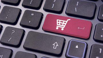 Black Friday, Cyber Monday y carrito de compras online ubicuo.