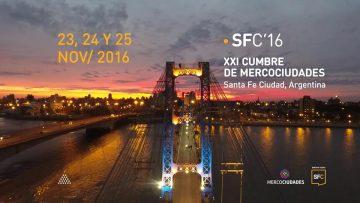Mercociudades hizo cumbre en Santa Fe · SFC'16
