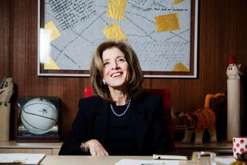 Caroline Kennedy en la Embajada de EE.UU. en Tokio.