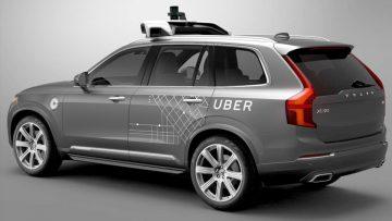 A la vanguardia de todo: Volvo XC90 modificado para Uber.