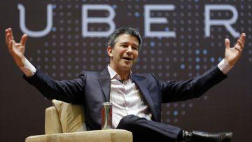 Travis Kalanick, CEO y cofundador de Uber.