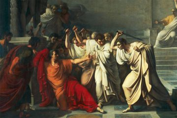 """Idus de mayo e idus de marzo: """"La muerte de César""""."""