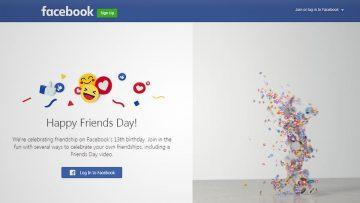 El Día del Amigo 2017 según Facebook.