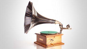 Música para tus oídos: el gramófono.